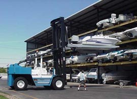 Marina Del Sol Offers Dry Stack Boat Slip In Clear Lake