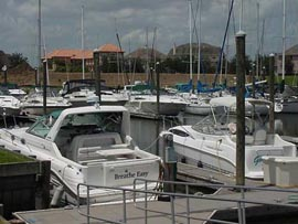 Marina Del Sol Offers Wet Slipt For Sailboats Motoryachts